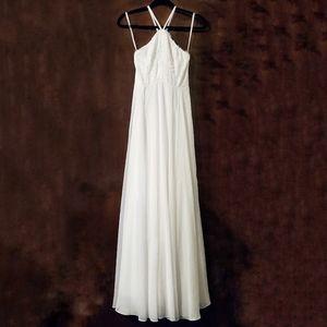 Lulu's Dresses - LULU'S Everlasting Enchantment Ivory Maxi Dress S